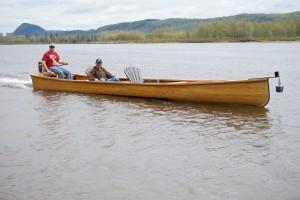 Rene Martin canoe 1