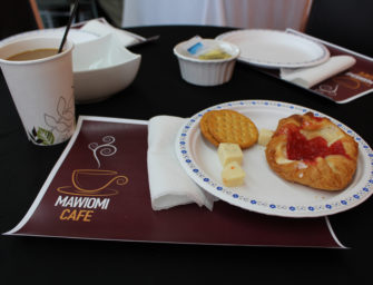 Mawiomi Cafe: a chance to listen