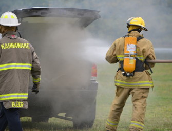 Training the next round of firefighters